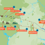 Bluemountain tour map