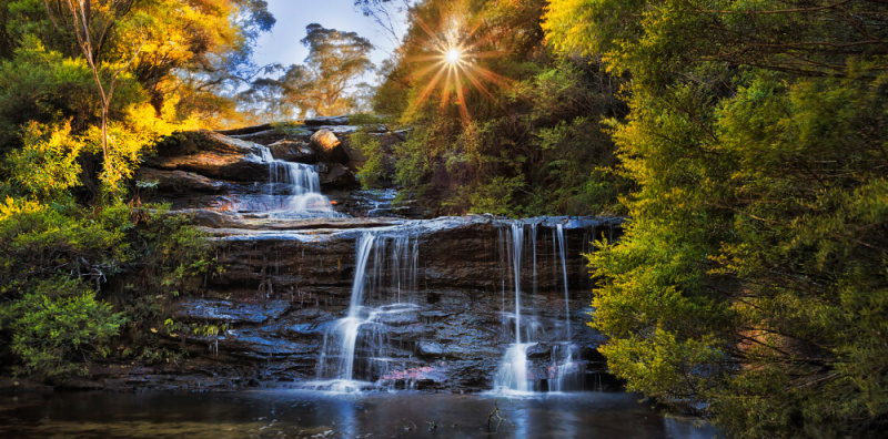 Wentworth falls - Blue Mountains - Day tours from Sydney