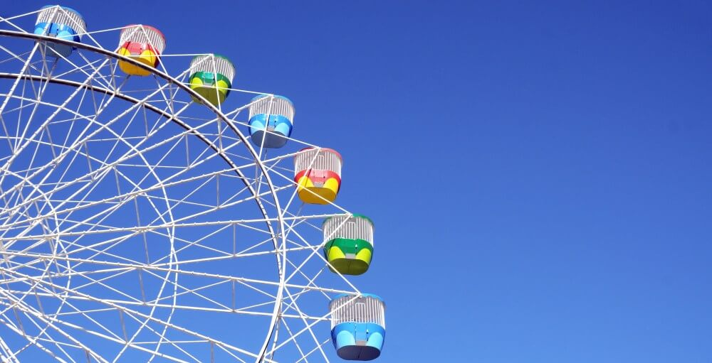 Discover Sydney's attractions Ferris wheel