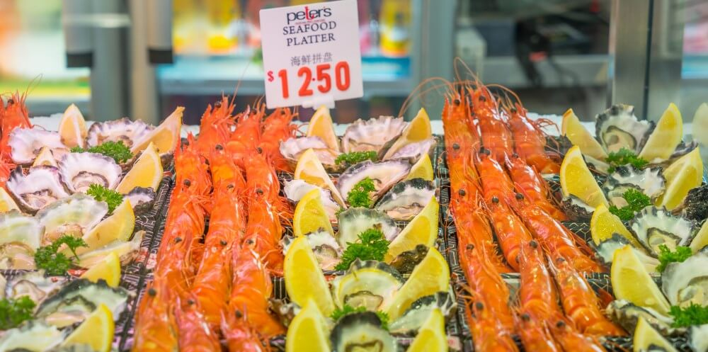 Do not miss Fish Market when sightseeing Sydney