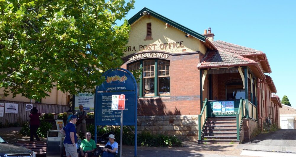 Sydney Tours R Us What to do in Leura Old post office Leura Mall