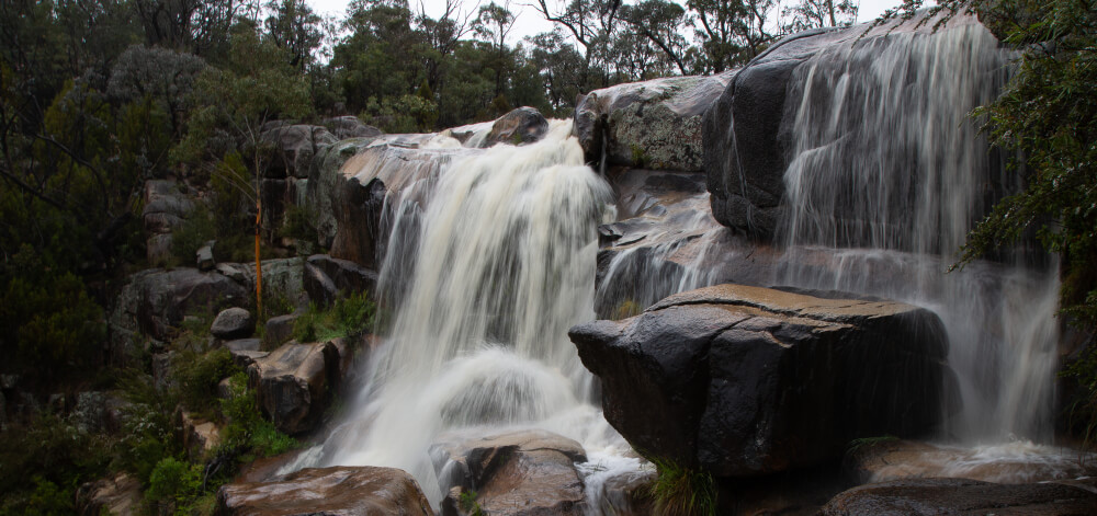 Experience beauty of Canberra - Namadgi National Park - Gibraltar Falls